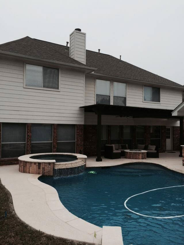 Schultz swimming pool katy texas pool builder sahara for Pool design katy tx